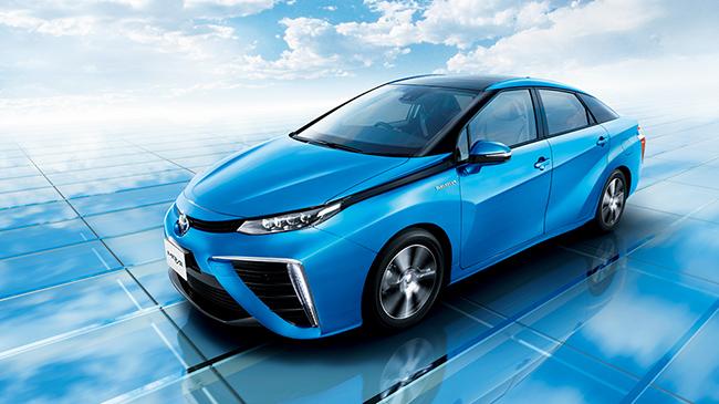 Toyota Mirai de hidrógeno