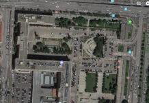Zona Norte del complejo de Nuevos Ministerios de Madrid