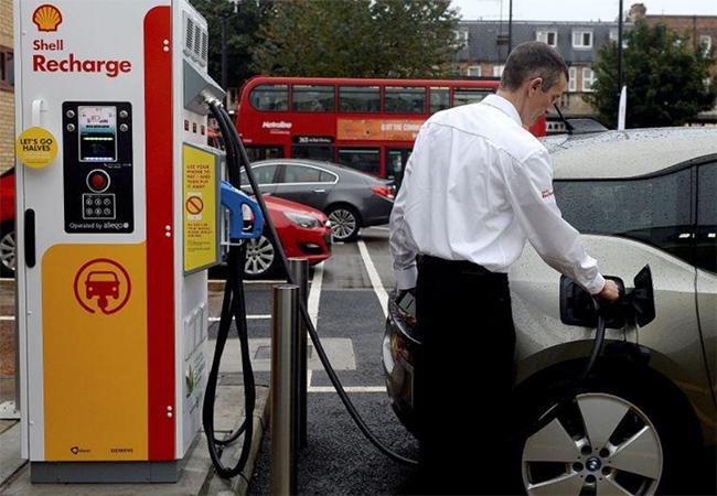 Estaciones de carga de vehículos eléctricos
