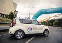 Inicio de la II Vuelta a España en vehículo eléctrico