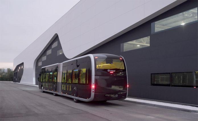 Irizar ie bus articulado de 18 metros