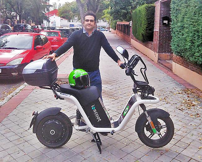 Ioscoot es una empresa de Motosharing que opera en varias ciudades españolas