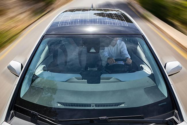Prius Prime con paneles fotovoltaicos