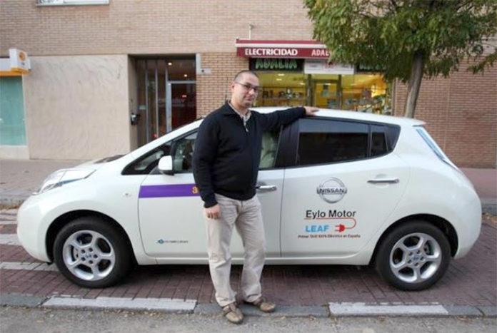 Roberto San José es un gran aficionado a la movilidad eléctrica