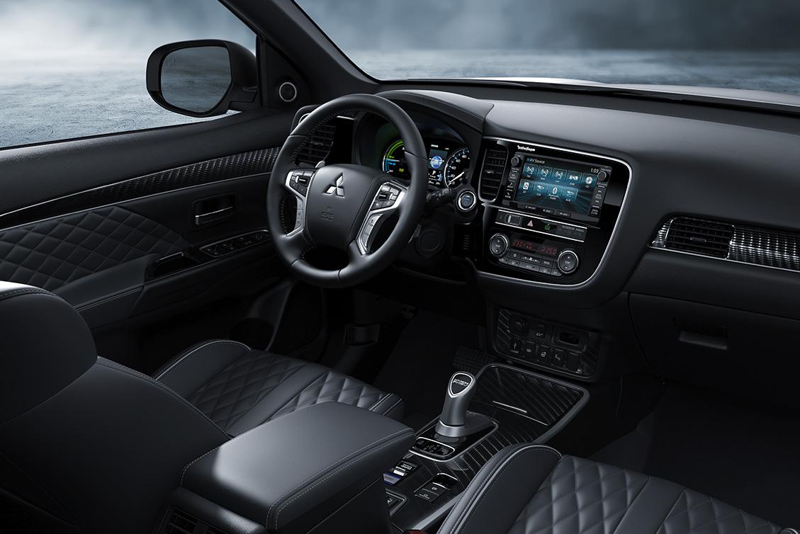 Prueba del Mitsubishi Outlander PHEV 2019 - Movilidad Eléctrica