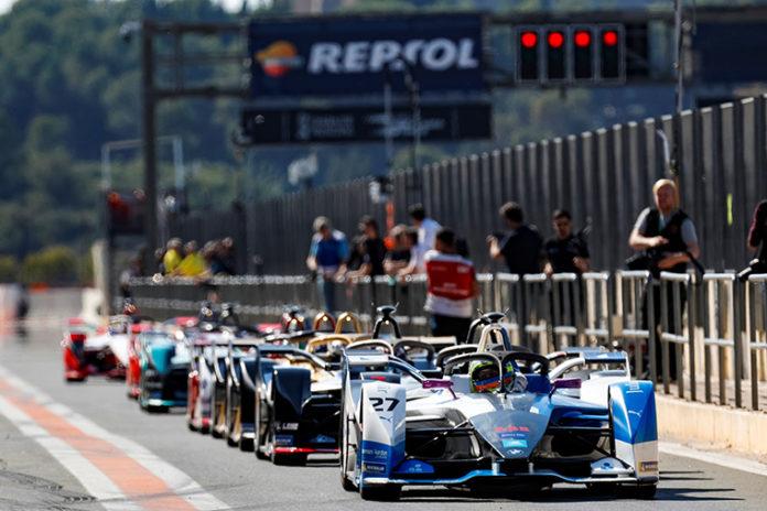 pruebas de pretemporada de la Fórmula E en Valencia