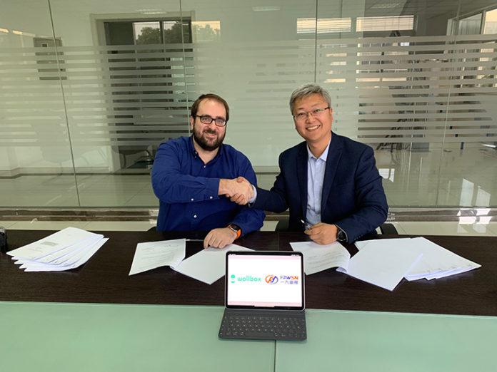 Wallbox y Changchun FAWSN. Firma del acuerdo