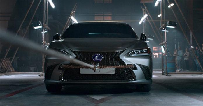 Inteligencia artificial para el anuncio del Lexus ES 300h