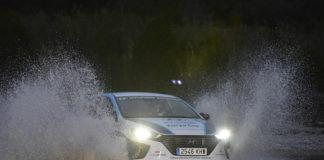 Campeones de híbridos plug-in del Eco Rallye