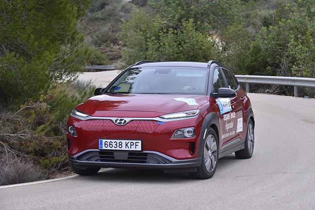 Categoría de vehículos eléctricos. Eco Rallye