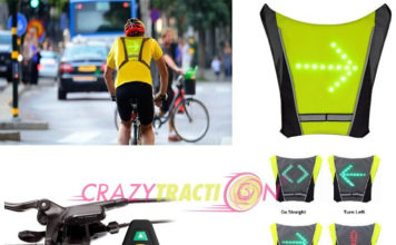 Crazytraction, la emrpresa que comercializa el chaleco Top Visibility CT-B007