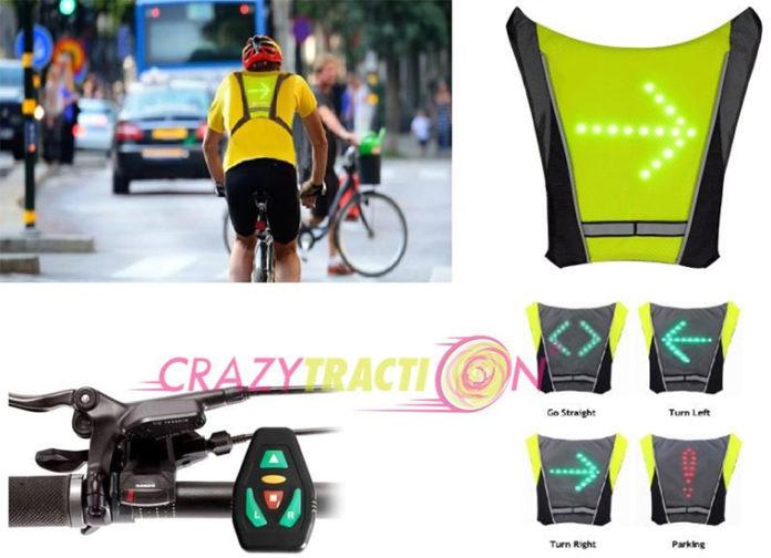 Crazytraction, la emrpresa que comercializa el chaleco Top Visibility CT-B007