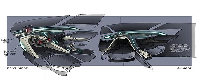 Diseño de las tecnologías de conducción, normal y autónoma, para la película