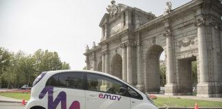 emov, servicio de carsharing en Madrid
