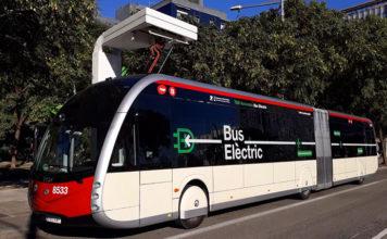 4 autobuses Irizar ie tram llegan a aBarcelona