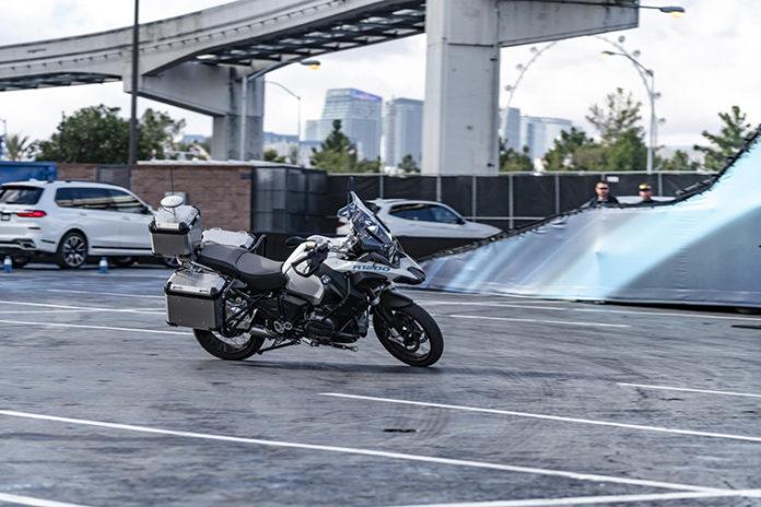 BMW R 1200 GS en el CES de Las Vegas 2019