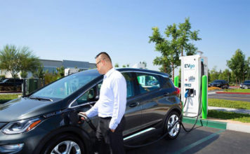 acuerdo de colaboración de General Motors con EVgo, ChargePoint and Greenlots
