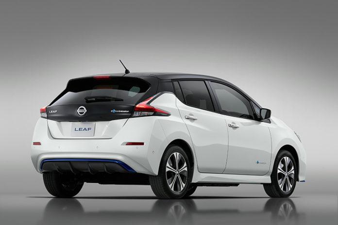 La edición limitada del Nissan LEAF e+ 3.ZERO llegará a Europa en verano