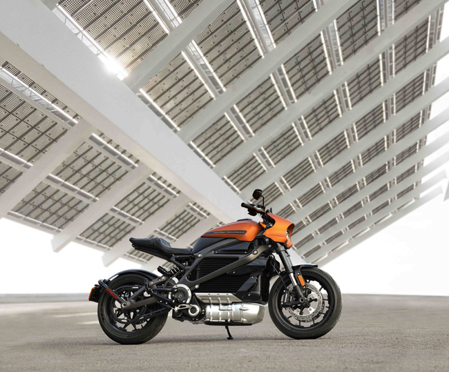 Harley-Davidson LivewWire eléctrica