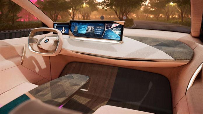 BMW Vision iNext en el CES de Las Vegas 2019