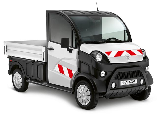 El e-TRUCK lleva una batería que permite una autonomía de 130 km.