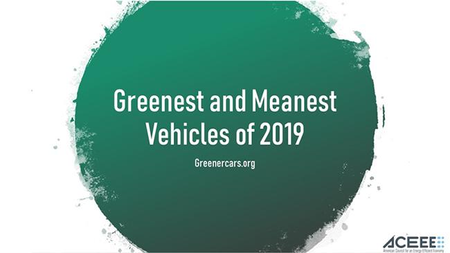 El Consejo Americano para una Economía de Energía Eficiente es el que publica la lista anual de coches más ecológicos