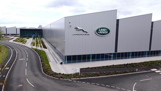 Fábrica de desarrollo de los nuevos motores Ingenium en Wolverhampton (UK)