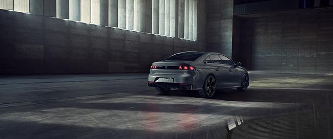 El concept 508 Peugeot Sport Engineered