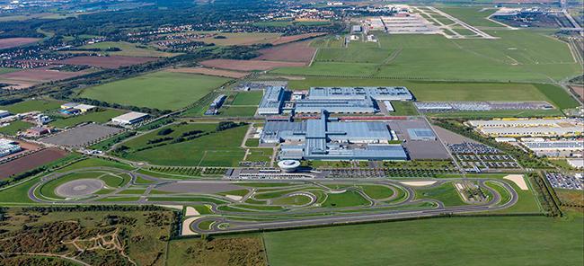 Factoría de Porsche en Leipzig, Sajonia