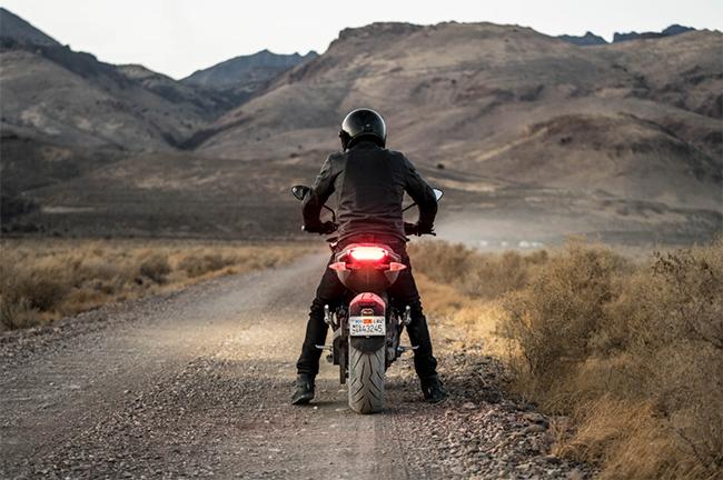 Zero SR/F, una moto de altas prestaciones