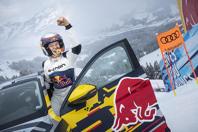 Desafío Audi e-tron extreme en Los Alpes