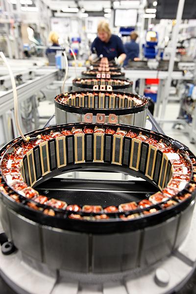 EM-Motive fabrica motores eléctricos