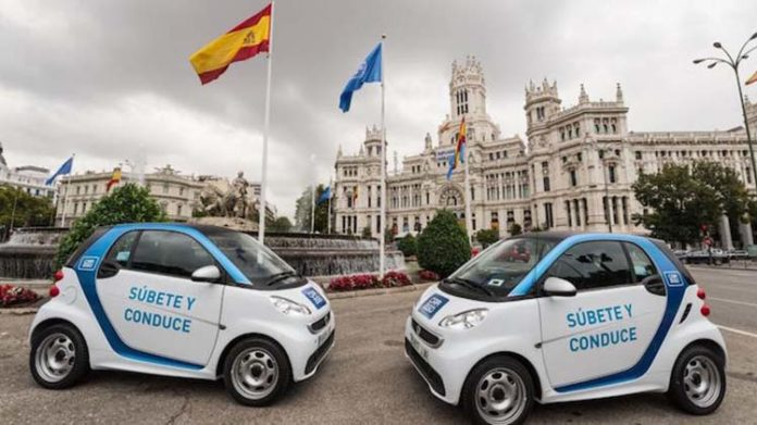 carsharing en Madrid