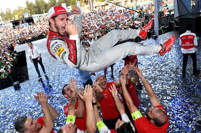 Daniel Abt logra en México su primera victoria en la