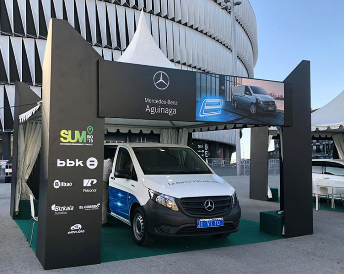 La factoría de Vitoria de Mercedes es la encargada de la fabricación de la furgoneta eVito