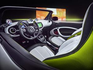 Interior del smart forease