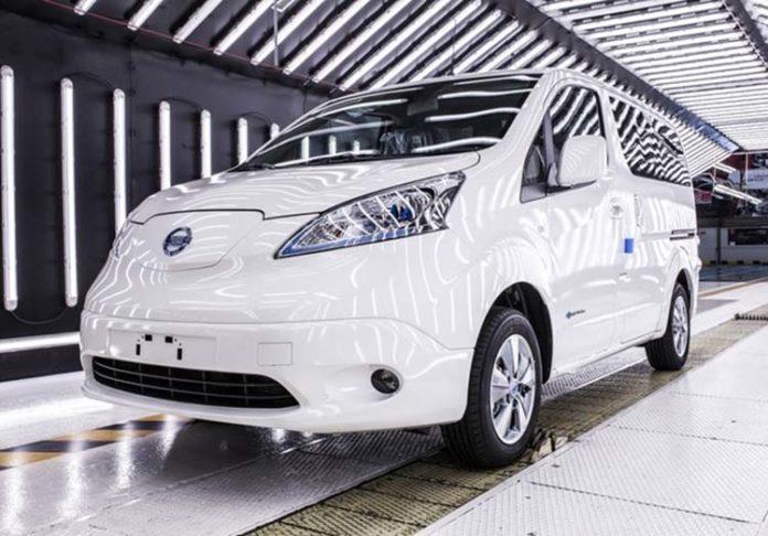 La furgoneta Nissan e-nv 200 se produce en la planta de Nissan Zona Franca.