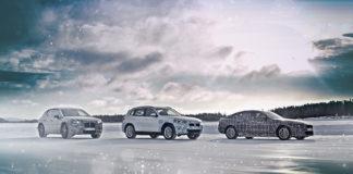 Pruebas extremas para los BMW iX3, i4 e iNEXT