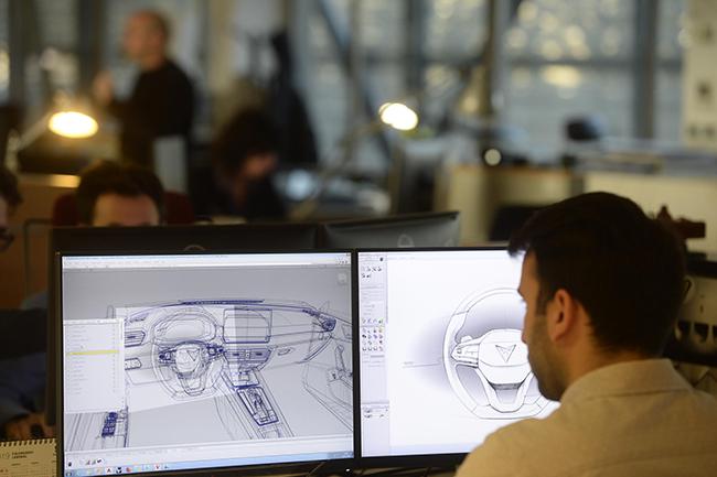Proceso de creatividad de un concept car