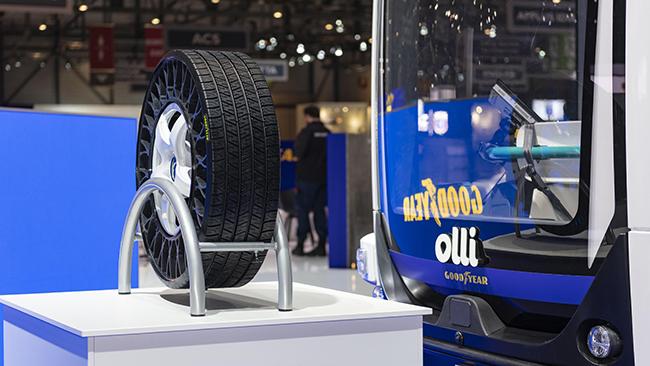Goodyear provee de neumáticos a Olli