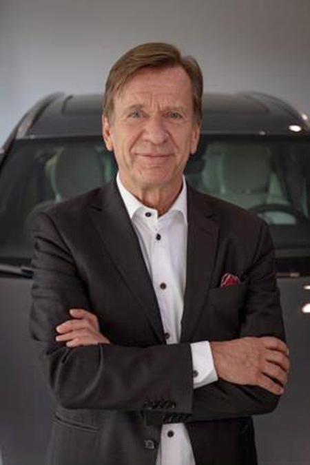 H. kan Samuelsson. Presidente y Director Ejecutivo de Volvo Cars