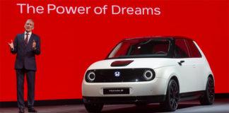 Presentación del Honda e Prototype