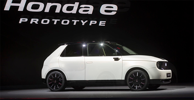 Honda e Prototype en el Salón de Ginebra