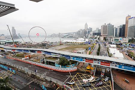 La quinta carrera de la Fórmula E se desarrolló por las calles de Hong Kong.