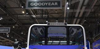 Olli, vehículo autónomo, eléctrico, que transporta hasta 8 pasajeros
