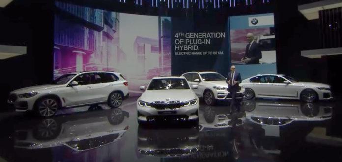 BMW Group ha presentado sus nuevos híbrido-enchufables en Ginebra