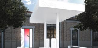 Estación de servicio que Polestar instalará en Milán
