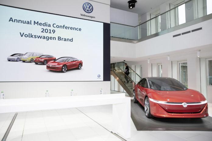 Conferencia de prensa anual del Grupo Volkswagen. 2019