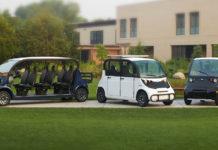 Vehículos de pasajeros GEM de Goupil Industrie
