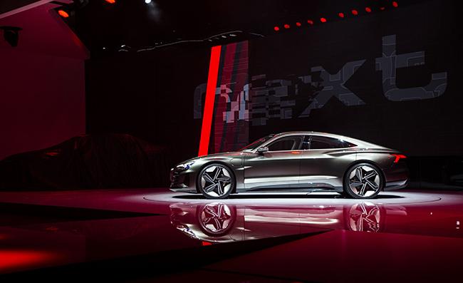 Audi e-tron GT, presentación europea en Ginebra